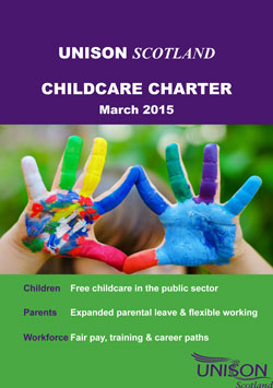 UNISON Scotland Childcare charter March 2015 image 1