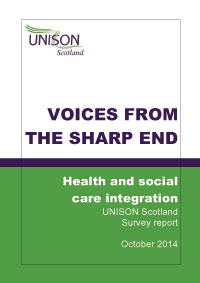 Voices from the sharp end - Care Integration Survey Report Oct 2014